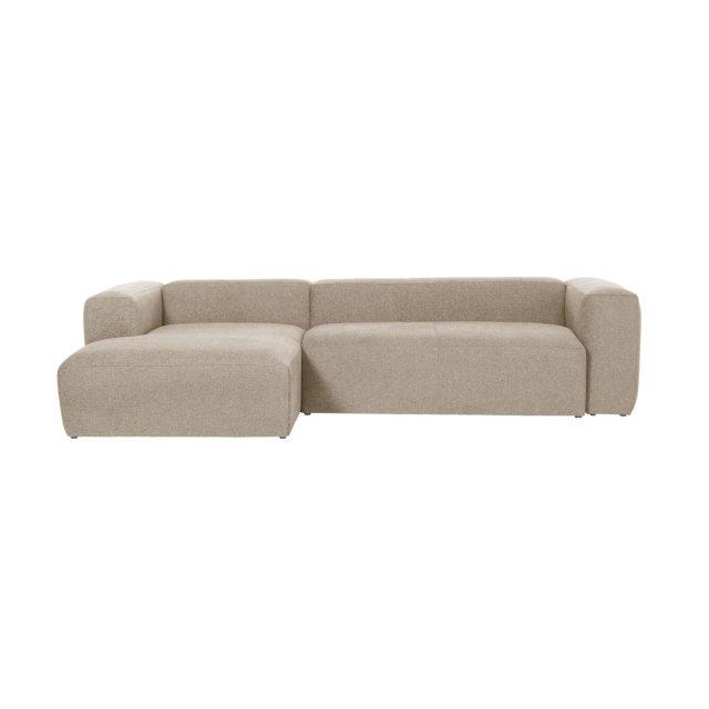 Kutna sofa Longue Beige Left