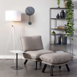 Tabure Lazy Sack Light Grey