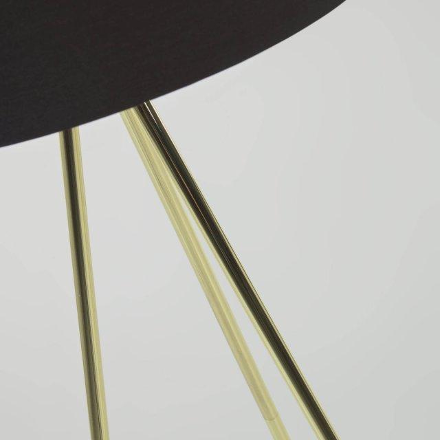 Podna lampa Ikia Brass