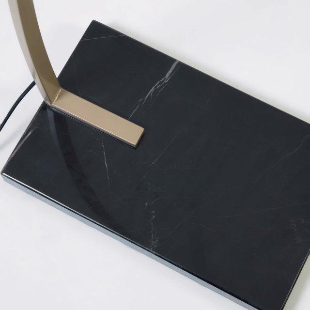 Podna lampa Chop Black