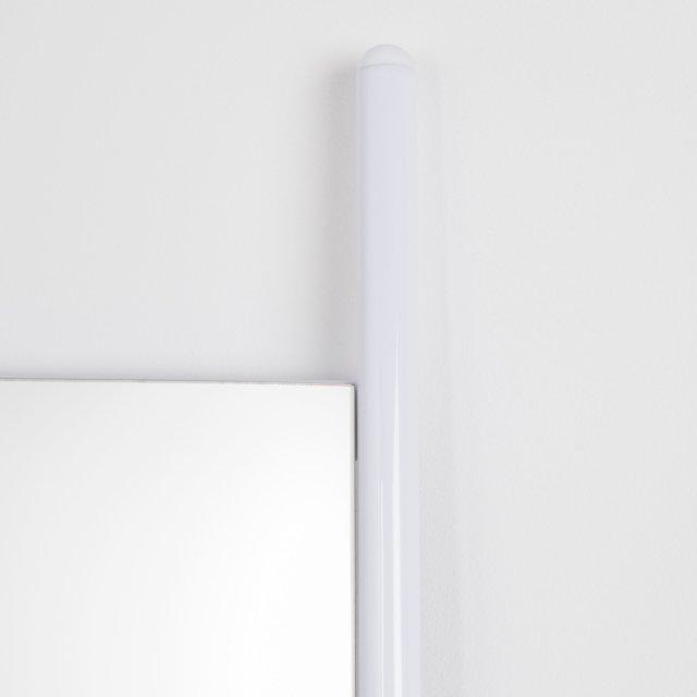 Ogledalo Leaning White