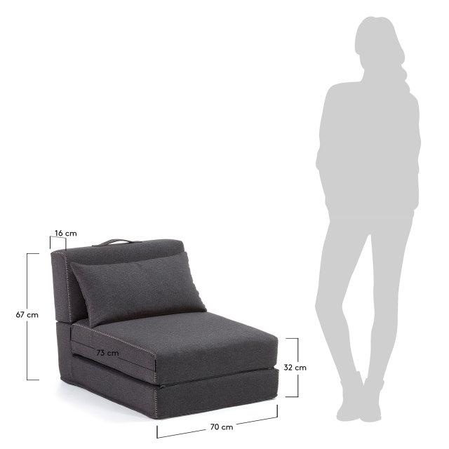 Fotelja Graphite Arty