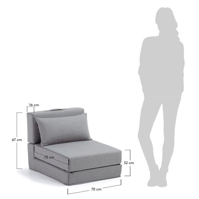 Fotelja Grey Arty