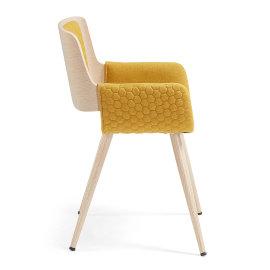 Stolica s rukonaslonom Andre Mustard