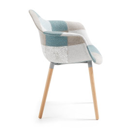 Stolica s rukonaslonom Kenna Patchwork