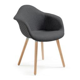 Stolica s rukonaslonom Kenna Grey