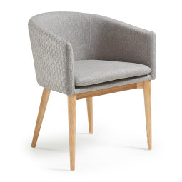 Stolica s rukonaslonom Harmon Light Grey
