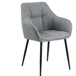 Stolica s rukonaslonom Brenda Light Grey