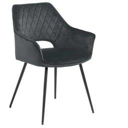 Stolica s rukonaslonom Felina Dark Grey