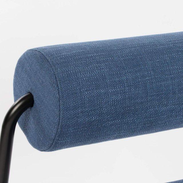 Fotelja Lekima Dark Blue