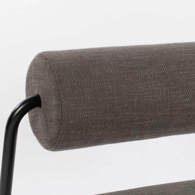 Fotelja Lekima Dark Grey