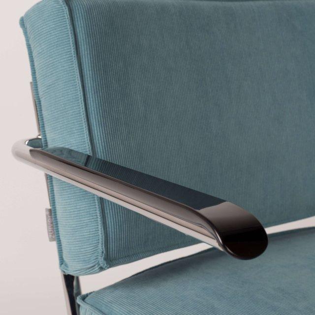 Fotelja Ridge Rib Arm Blue