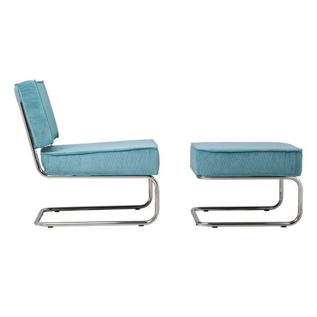 Fotelja Ridge Rib Blue