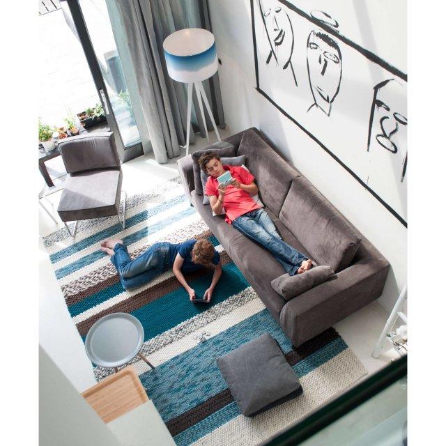 Fotelja Ridge Rib Grey