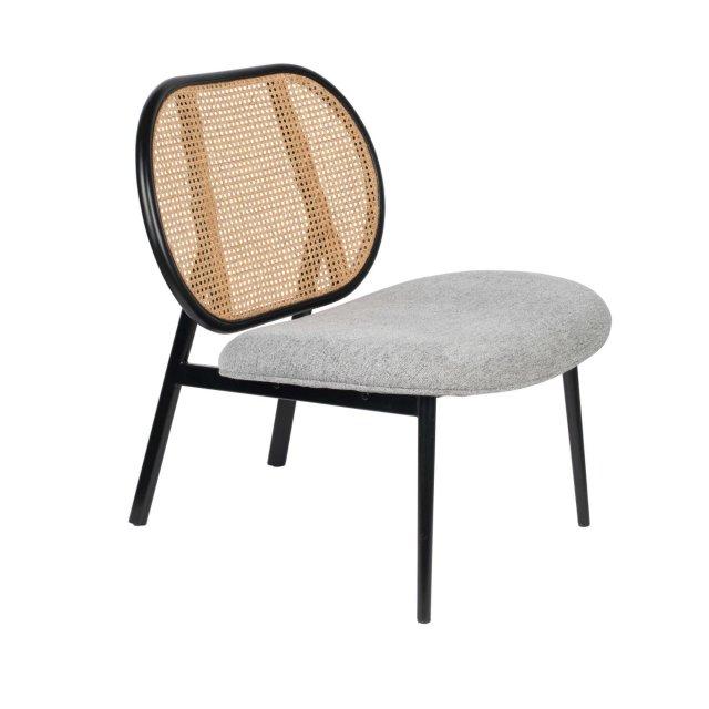 Fotelja Spike Natural/Grey