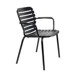 Vrtna stolica s rukonaslonom Vondel Black