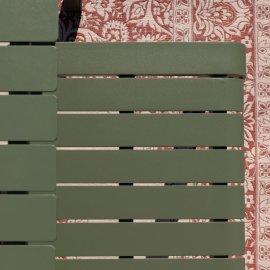 Vrtna klupa Vondel Green 129,5x45 cm