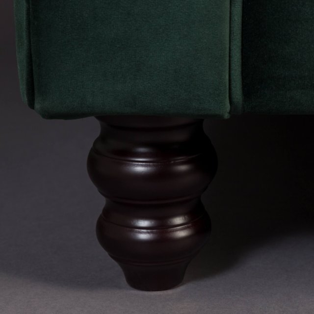 Sofa Chester Velvet Dark Green