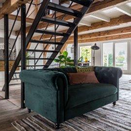 Sofa Chester Velvet Dark Green