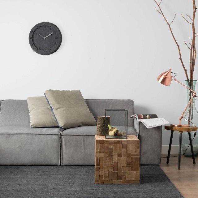 Sofa James Rib Cool Grey Web