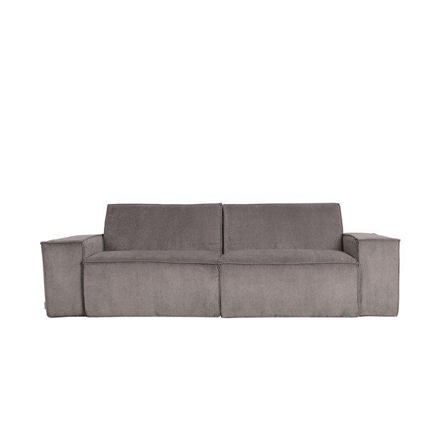 Sofa James Rib Grey Web