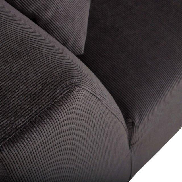 Sofa Dragon Rib Grey