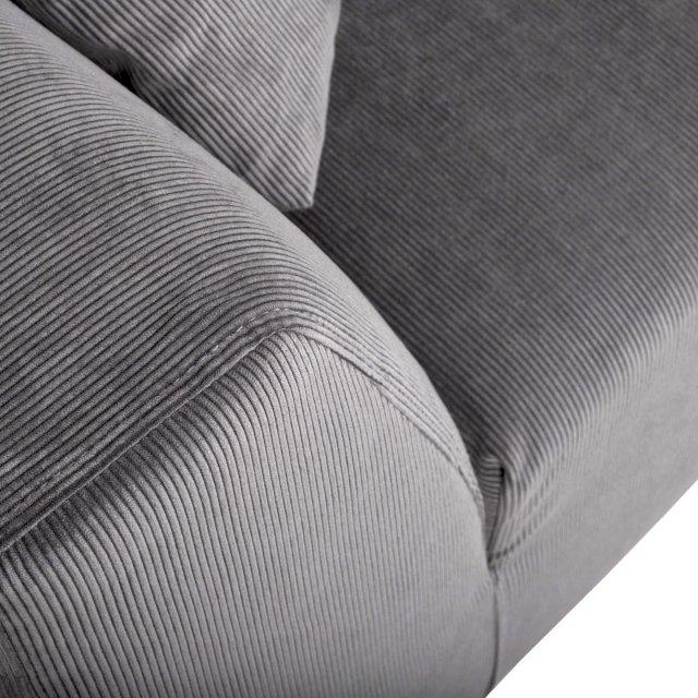 Sofa Dragon Rib Cool Grey