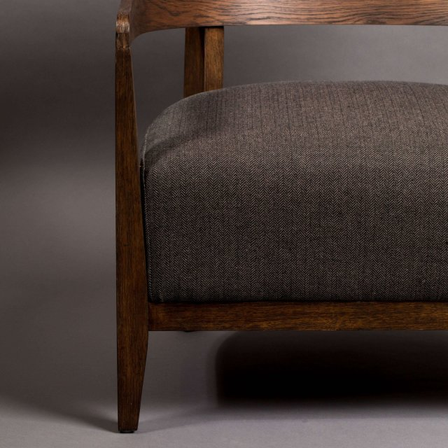 Fotelja Duran Grey FR