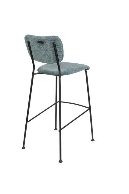 Barska stolica Benson Grey Blue