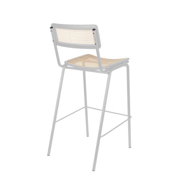 Barska stolica Jort Grey/Natural