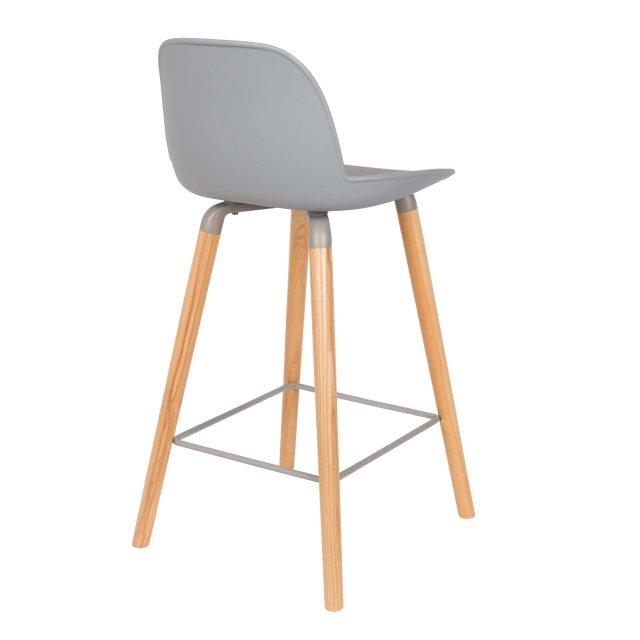 Polubarska stolica Albert Kuip Light Grey