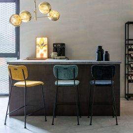 Polubarska stolica Benson Dark Blue