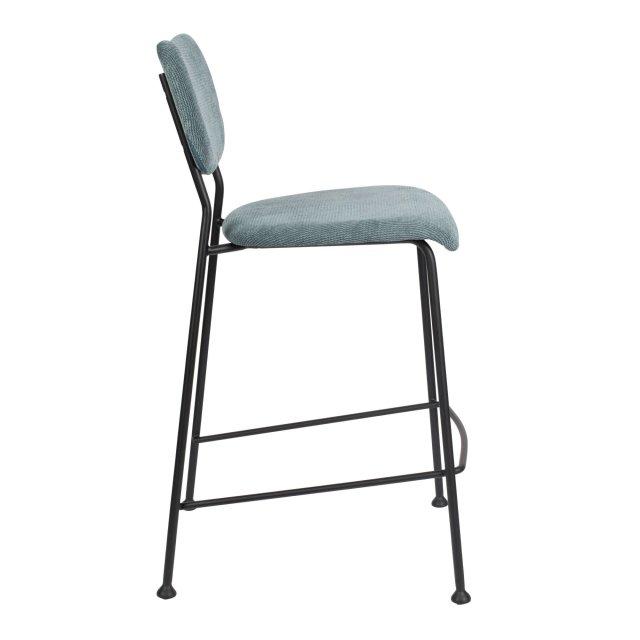 Polubarska stolica Benson Grey Blue