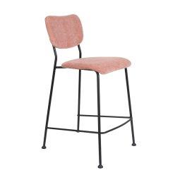 Polubarska stolica Benson Pink