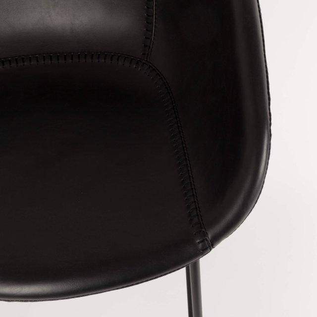 Polubarska stolica Feston Black