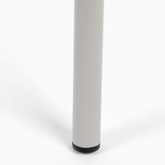 Polubarska stolica Jort Grey/Natural