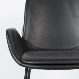 Stolica s rukonaslonom Brit LL Black