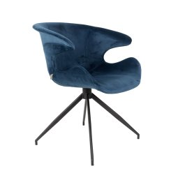 Stolica s rukonaslonom Mia Blue