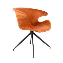 Stolica s rukonaslonom Mia Orange