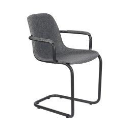 Stolica s rukonaslonom Thirsty Graphite Grey