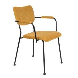 Stolica s rukonaslonom Benson Ochre