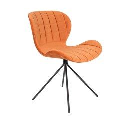 Stolica OMG Velvet Orange