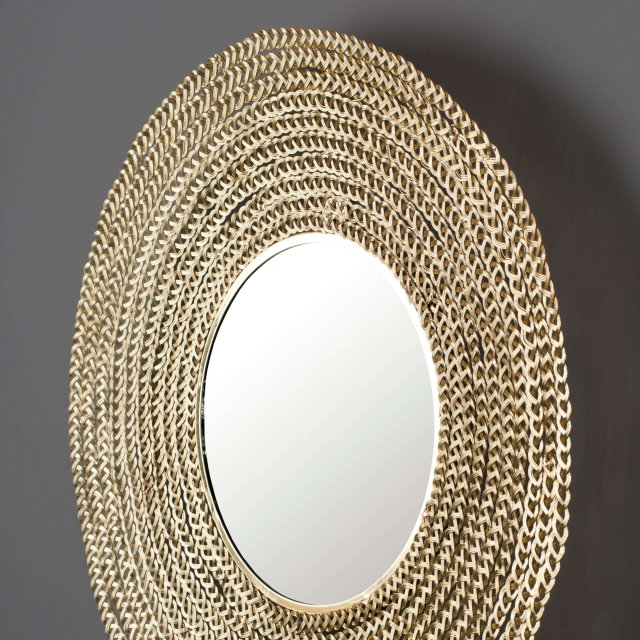 Ogledalo Gauri Gold