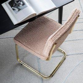 Stolica Teddy Pink