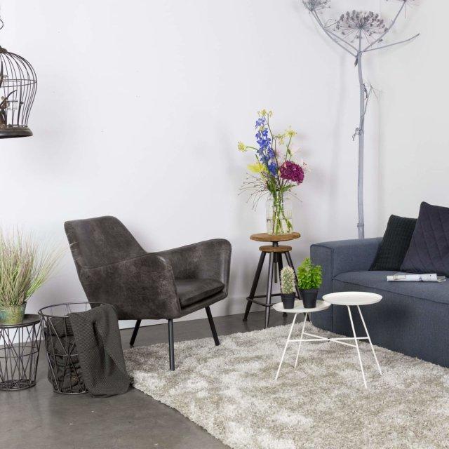 Fotelja Bon Dark Grey