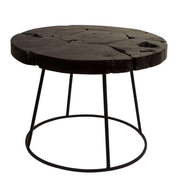 Pomoćni stolić Kraton Chocolate Black L