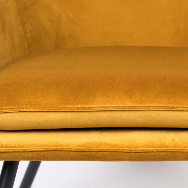 Fotelja Bon Velvet Gold