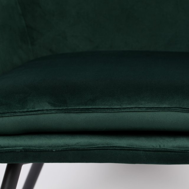 Fotelja Bon Velvet Green