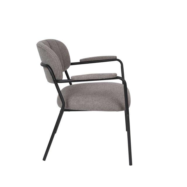 Fotelja Jolien Black/Grey