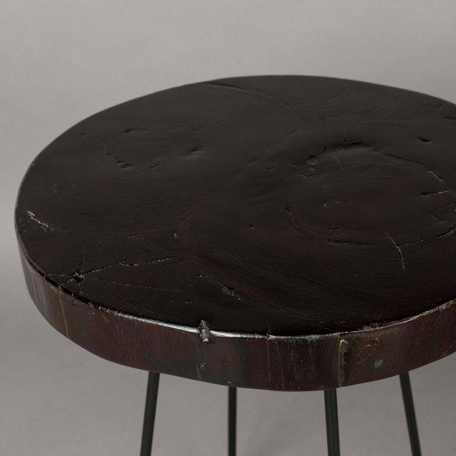 Pomoćni stolić Kraton Chocolate Black S